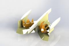 Dominik Bondicov - trimaran sa dva vijka - priprema za 3D print - 2 od 2 (Medium)