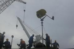 Mobilna vjetroturbina - monta+ża